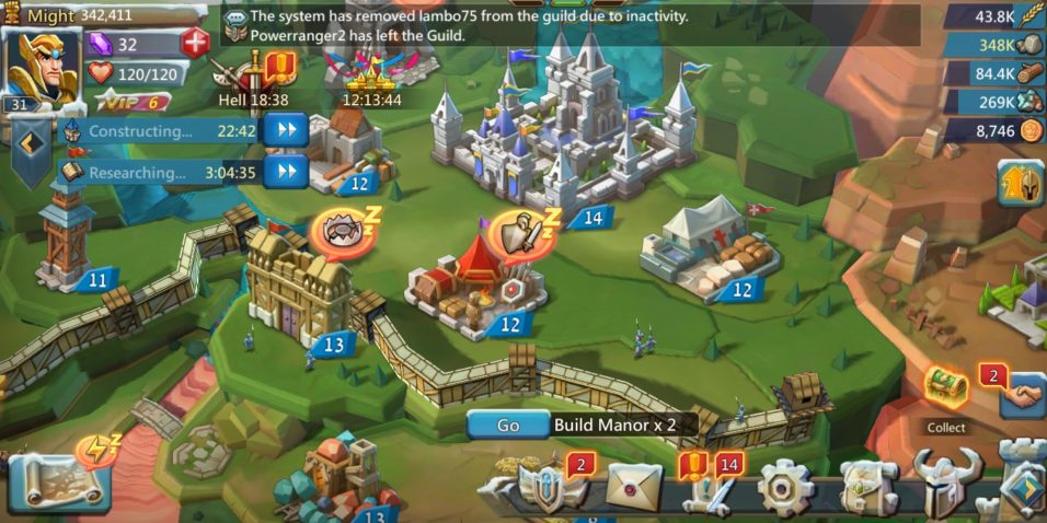 Lords Mobile Game